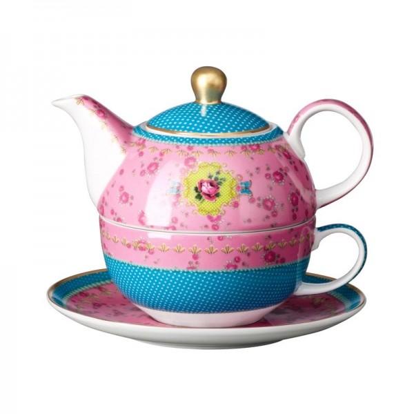 Goebel Eva Maria Nitsche Tea for One Sweet Rose, 1 Stk