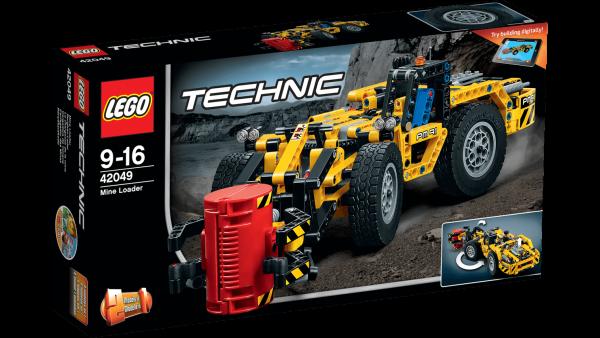 Lego Technic Bergbau Lader, 1 Stk