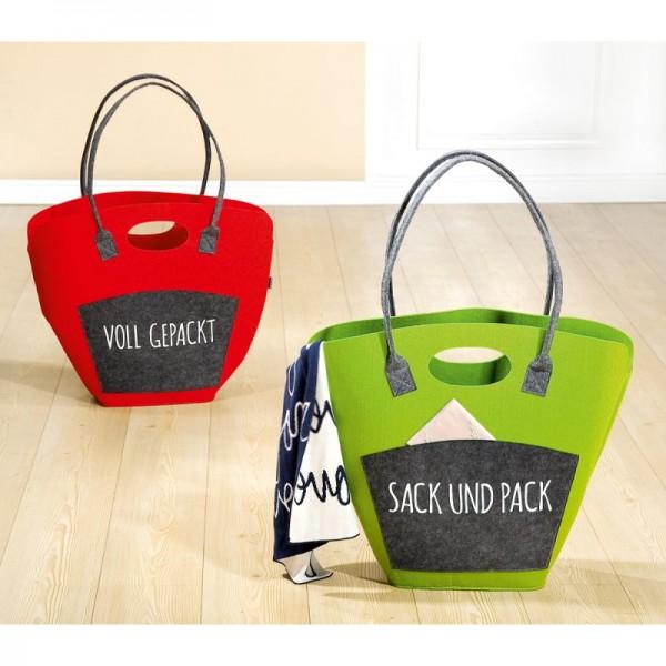 Tasche Sack und Pack, 4 Stk