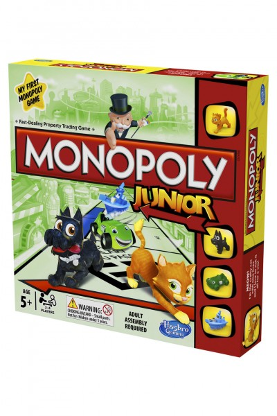 Monopoly Junior, 2 Stk