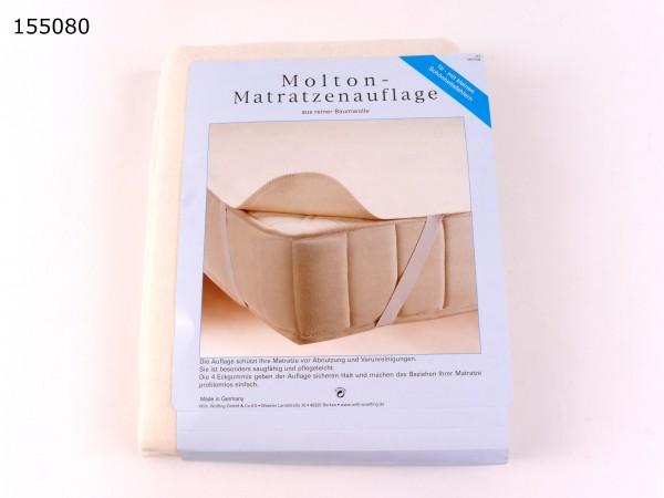 Molton Matratzenauflagen, 12 Stk