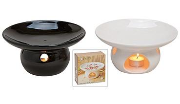 Duftlampe, Keramik, 2-fach farbig sortiert, 1 VE = 12 Stück