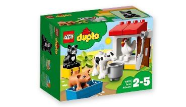 LEGO®Duplo 10870 Tiere auf dem Bauernhof, 1 VE = 4 Stück