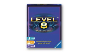 Ravensburger 20766 Level 8, das Kartenspiel, 1 VE = 6 Stück