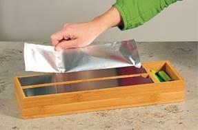 Kesper Folienspender für die Schublade FSC®-zertifizierter Bambus, 1 VE = 1 Stück