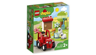 LEGO® DUPLO 10950 Traktor und Tierpflege, 1 VE = 1 Sets