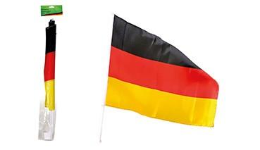 Autofahne Deutschland, 1 VE = 30 Stück