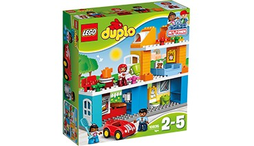 LEGO® duplo Familienhaus, 1 VE = 1 Stück