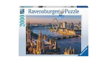 Ravensburger 16627 Puzzle Stimmungsvolles London, 1 VE = 1 Stück