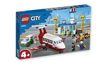 LEGO® City 60261 Flughafen, 1 VE = 1 Set