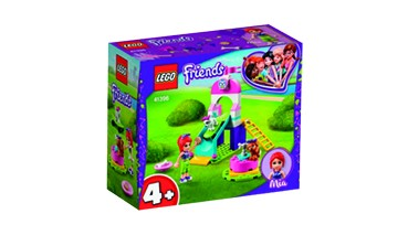 Set: LEGO® Friends 41396 Welpenspielplatz und REISENTHEL® minibag kids, 1 VE = 1 Set