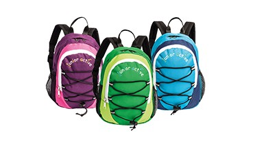 Kinderrucksack junior active, 1 VE = 12 Stück