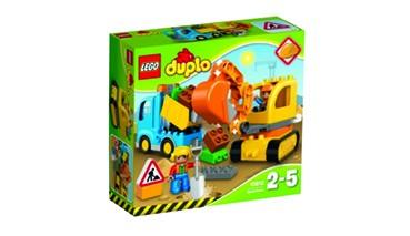 LEGO® duplo 10931 Bagger & Lastwagen, 1 VE = 1 Set