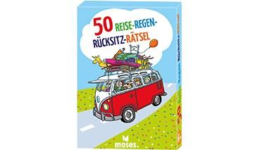 50 Reise-Regen-Rücksitz-Rätsel, 1 VE = 4 Sets