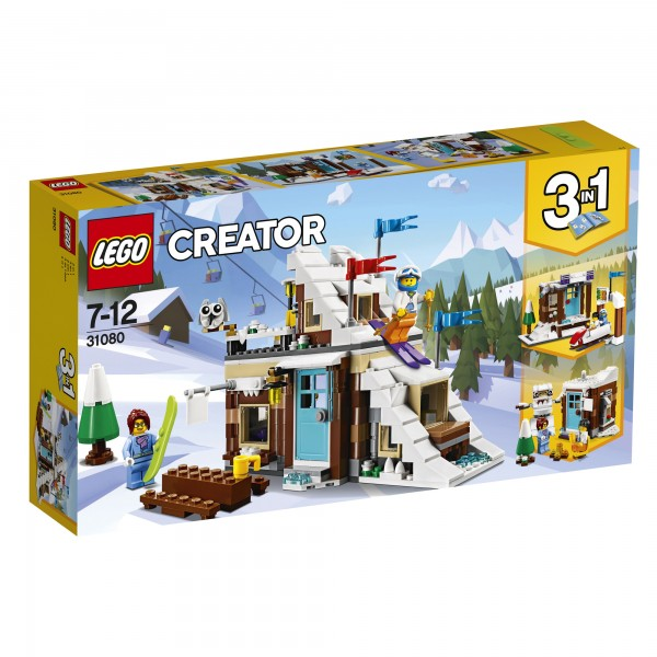 LEGO® Creator Modulares Wintersportparadies, 1 VE = 1 Stück