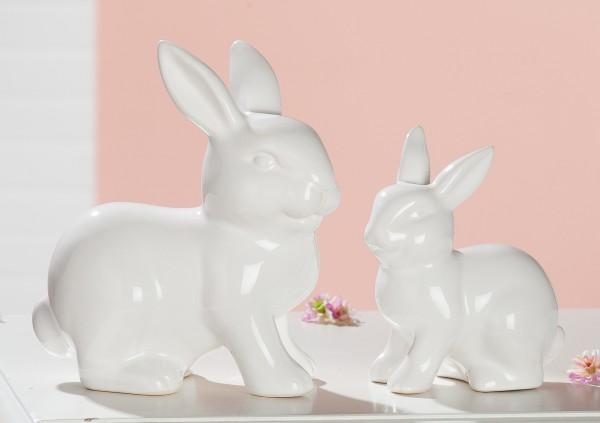 Gilde Keramik Hase sitzend, 13 cm hoch, 1 VE = 1 Stück