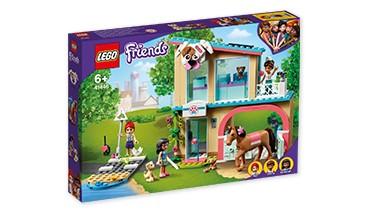LEGO® Friends 41446 Heartlake City Tierklinik Spielset mit Mia, Savannah und Donna, Pf,1 VE = 1 Sets