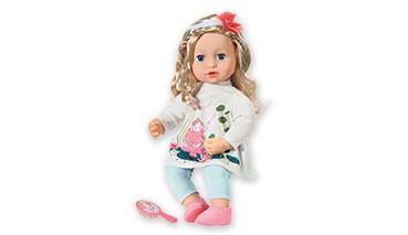 Zapf Baby Annabell Sophia 43 cm, 1 VE = 1 Set