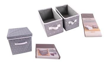 2er-Set Aufbewahrungsbox, 1 VE = 12 Stück