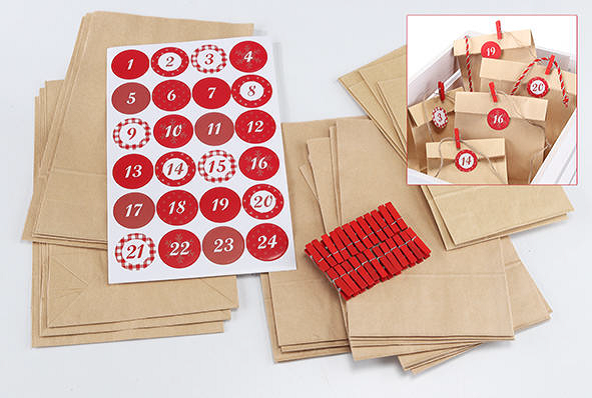 Do-it-Yourself-Adventskalender, 1 VE = 1 Stück