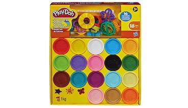 Play-Doh Super Farbenkiste mit Zubehör, 1 VE = 4 Stück