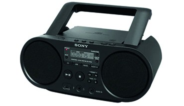 Sony CD-Radio UKW USB Schwarz, 1 VE = 1 Stück