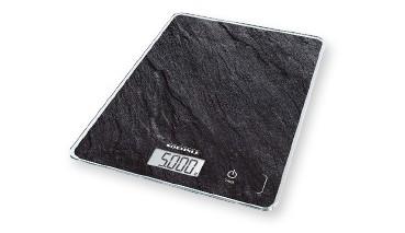 Soehnle Page Compact 300 Slate, digitale Küchenwaage, Schiefermuster, 1 VE = 1 Stück