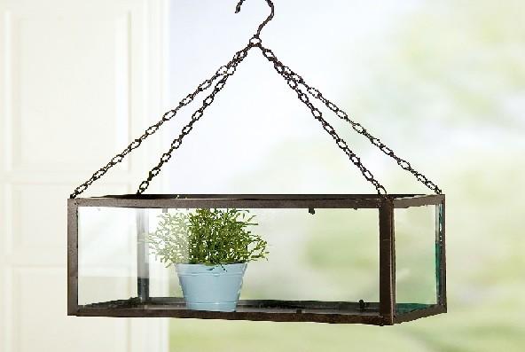 Gilde Handwerk hängendes Gewächshaus, 1 VE = 3 Stück