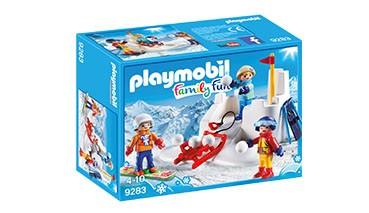 Playmobil Family Fun Schneeballschlacht, 1 VE = 8 Stück