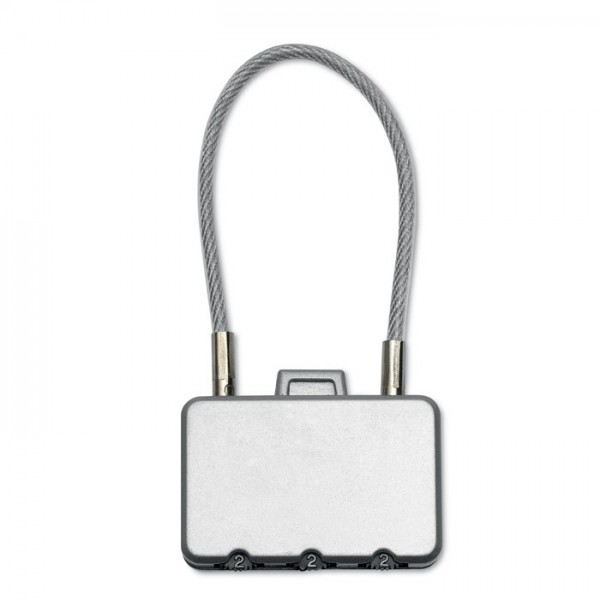 Threecode Kofferschloss, 1 VE = 20 Stück