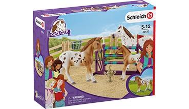 Schleich® Horse Club Lisas Turnier-Training, 1 VE = 1 Stück