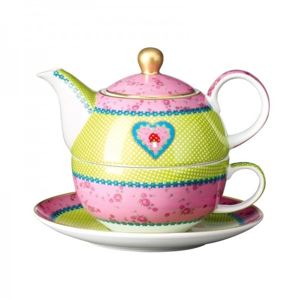 "Goebel Eva Maria Nitsche Tea for One ""Lucky Fellow"""