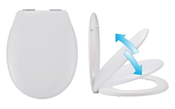Toilettendeckel aus Duroplast, 1 VE = 4 Stück