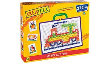 Creathek Koffer mit 272 Pins, 1 VE = 1 Stück