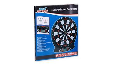 New Sports Elektronisches Dartboard mit Sound. Batterie betrieben (3x 1 ,5V AA nicht , 1 VE = 1 Sets