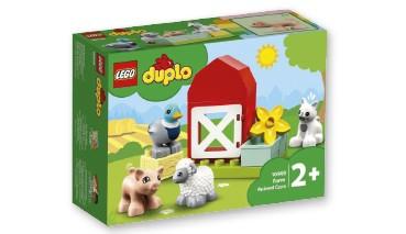 LEGO® DUPLO® 10949 Tierpflege auf dem Bauernhof, 1 VE = 4 Stück