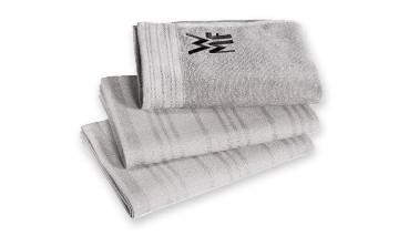 WMF Küchenhandtuch-Set, 3-teilig, Inhalt: 1x Handtuch, 2x Geschirrhandtuch, mit den G, 1 VE = 4 Sets