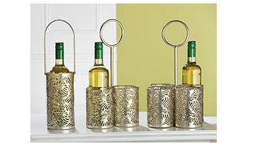 1er Flaschenhalter/Laterne, 1 VE = 4 Stück