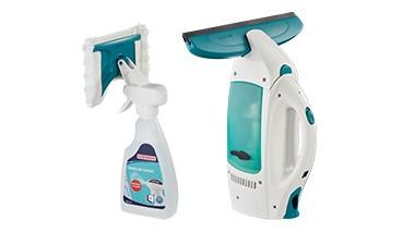 Leifheit Dry & Clean Fenstersauger + Spray Cleaner, 1 VE = 1 Stück