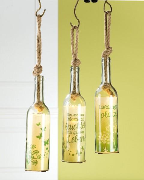 5-LED-Flaschenpost mit Sisalknoten, 1 VE = 18 Stück