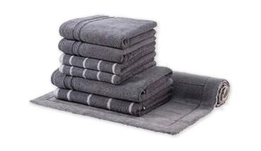 Egeria Line- Handtuch-Set 7 tlg.,4 Handtücher,2 Duschtücher und 1 Badeteppich 60 x 100, 1 VE=1 Set