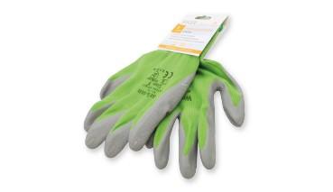 Arbeitshandschuhe Garten Sortiment Gr. S - XL grün/grau, 1 VE =36 Stück